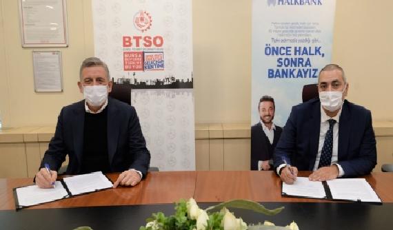 BTSO, Halk Bankası ile Protokol İmzaladı