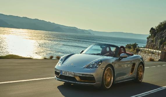 Porsche Boxster'ın 25. Yılını Özel Modelle Kutladı