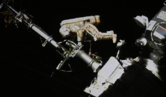 Uluslararası Uzay İstasyonu'nda Yürüyüş Keyfi